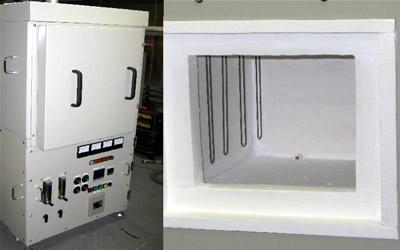ACG 前面開閉式小型大気炉 電気炉 / 真空雰囲気炉 / ACA 小型高温高真空炉