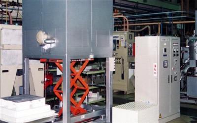 ACH 昇降式大型大気炉 電気炉 / 真空雰囲気炉 / ACA 小型高温高真空炉