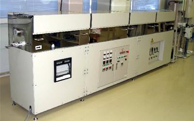 ACL 連続炉 電気炉 / 真空雰囲気炉 / ACA 小型高温高真空炉